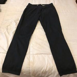 Blue khaki slack pants